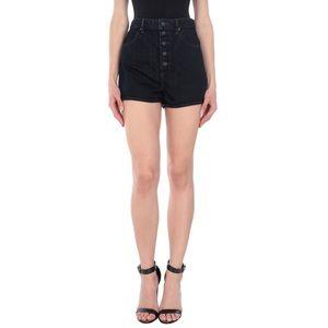 HELMUT LANG   Dark Denim Jean Shorts